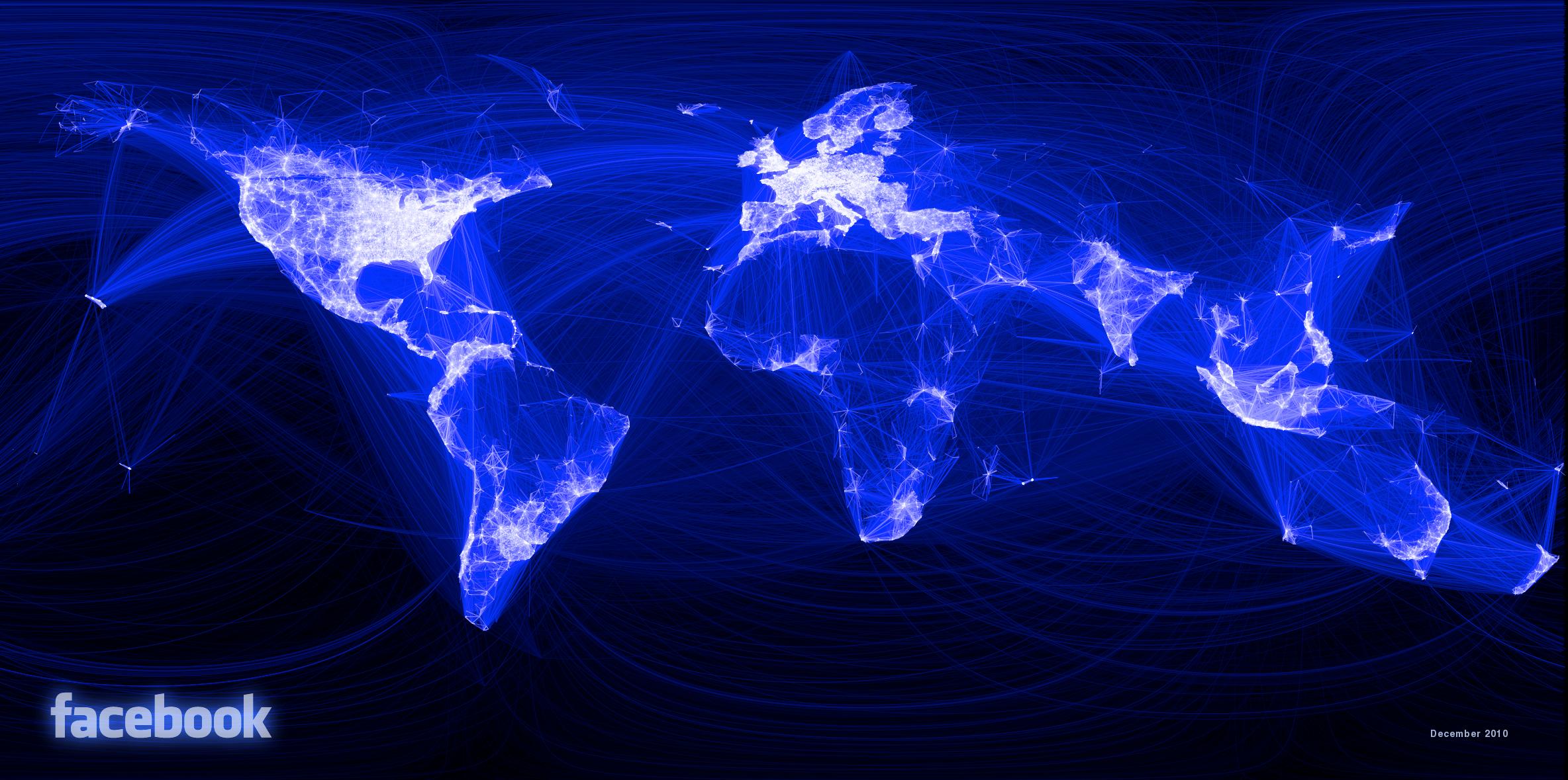 Facebook Link Map